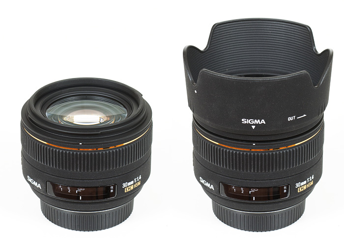 Sigma AF 30mm f/1.4 EX DC HSM (Nikon DX) - Review / Test Report